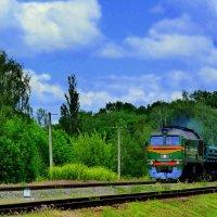 пейзаж с поездом :: Александр Прокудин