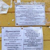 Деревенская доска объявлений :: Валерий Судачок