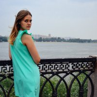 На набережной города Новосибирска :: Света Кондрашова