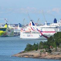 Порт Хельсинки. Лянси-терминал. :: Пердимонокль