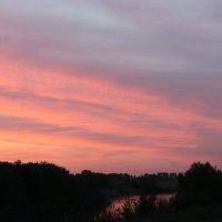 розовый закат :: Евгений
