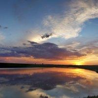 Вечер на озере :: Виктор Четошников