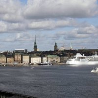 Панорама набережной Стокгольма :: Александр Рябчиков