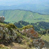 вид с трех Братьев - в горах  Алматы :: Горный турист Иван Иванов