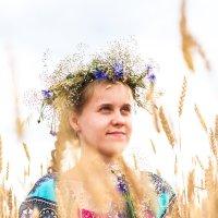 в поле :: Yana Odintsova
