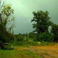 Окраина в дождливый день :: Милла Корн