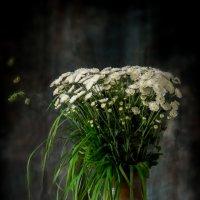 Натюрморт с ромашками-2 :: Алёна Федосеева
