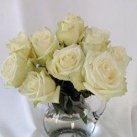 Букет из белых роз :: Mariya laimite