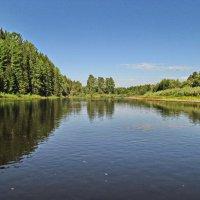 В летний зной реки прохлада :: Юрий Кузмицкас