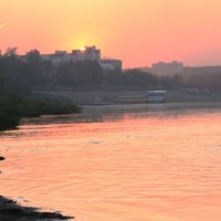 закат над Вяткой... :: Игорь