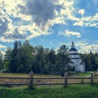 Вологодская обл. село Ферапонтово, церковь пророка Илии 1755г. :: Игорь Чистяков