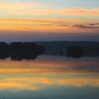 Восход по дороге к Горному Алтаю :: Anna