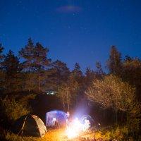 Ночь в лагере :: Alex AST