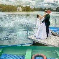 Красивая Изумрудная свадьба Игоря и Виталины :: Наталья Верхоломова