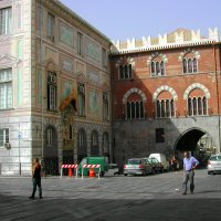 Палаццо Сан-Джорджо в Генуе. :: Tata Wolf
