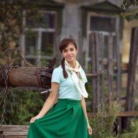 Девушка в платочке. :: Алексей Хаустов