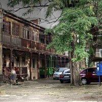 дворик на Молдаванке :: Александр Корчемный