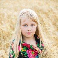Девочка в пшенице :: Alex Bush
