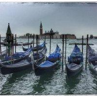 Просто гондолы на канале в Венеции :: Николай Милоградский