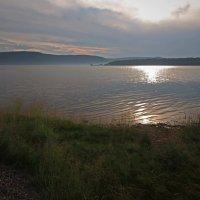 Летний закат на Ангаре... :: Александр Попов