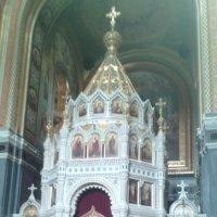 Часовня внутри Храма Христа Спасителя :: марина ковшова