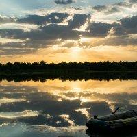 Закат на озере :: Руслан Галимов