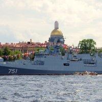 Новейший сторожевой корабль «Адмирал Эссен». :: Валерий Новиков