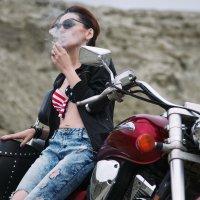 Biker-Girl :: Максим Рунков