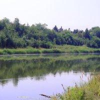 Рассвет на реке :: Юрий Гайворонский