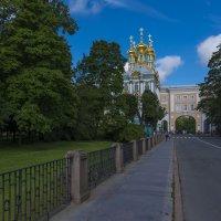 Вид на Екатерининский дворец и парк :: Юрий Митенёв