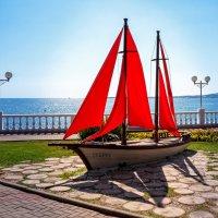 Красные паруса :: Андрей Гриничев