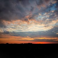 Красивый закат :: Владимир Безбородов