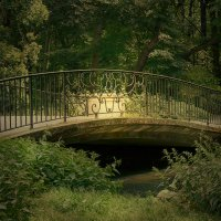 Мост и солнце :: Татьяна Каримова
