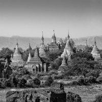 Мьянма. Черно-белые сны о Старом Багане :: Андрей Левин