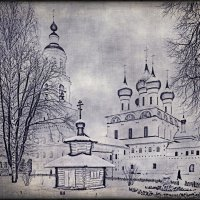 Зима в Толгском монастыре :: Николай Белавин