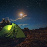 Ночь на природе :: Руслан Галимов