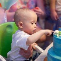 День рождения, 1 годик малышу Гоше :: Фотохудожник Наталья Смирнова