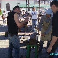 Праздник   кузнецов  в   Ивано - Франковске :: Андрей  Васильевич Коляскин