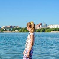 Прогулка по берегу Оби :: Света Кондрашова