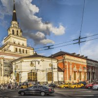 Москва. Казанский вокзал. :: В и т а л и й .... Л а б з о'в