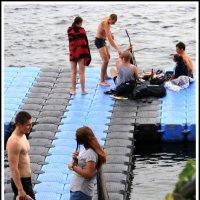 Незабываем отдых на воде, когда устав от суетности жизни, :: юрий