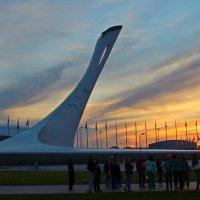 закат в Олимпийском :: leoligra