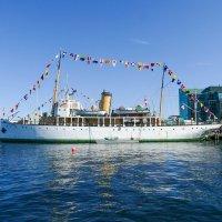 """Исторический военный корабль """"CSS Acadia"""". В порту г.Галифакс (Канада). :: Юрий Поляков"""