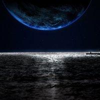 Одинокий рыбак. :: Лилия .