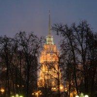 Огни Москвы. :: Владимир Безбородов