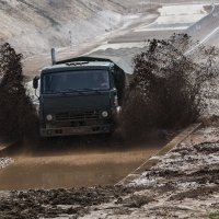 КаМазы грязи не боятся :: Роман Скоморохов