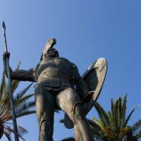 Вот он греческий герой - Ахиллес :: Олег Синькевич