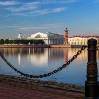 Васильевский остров с набережной Заячьего острова :: Valerii Ivanov