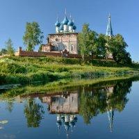 Благовещенский монастырь в Дунилово :: Леонид Иванчук