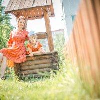 Мама и дочка :: Вячеслав Алабужин